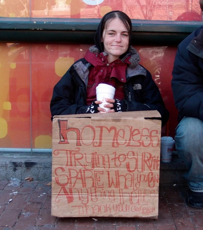 Signs for the Homeless - 05