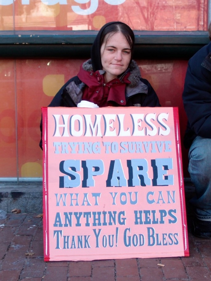 Signs for the Homeless - 06