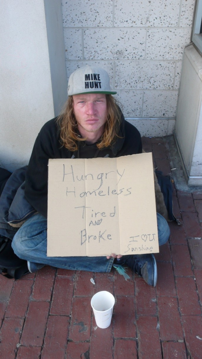 Signs for the Homeless - 07