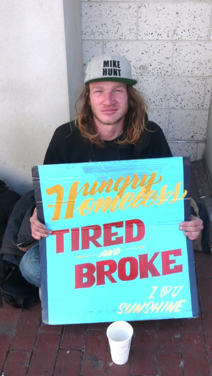 Signs for the Homeless - 08