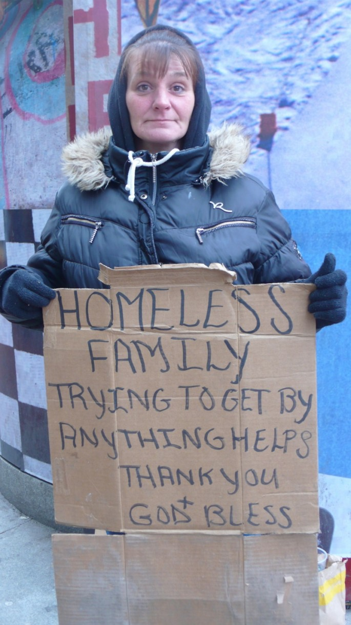Signs for the Homeless - 09