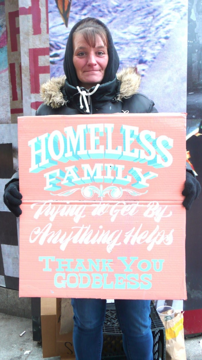 Signs for the Homeless - 10