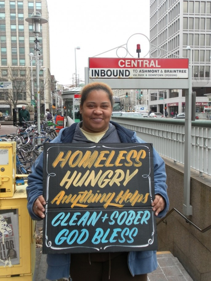 Signs for the Homeless - 12