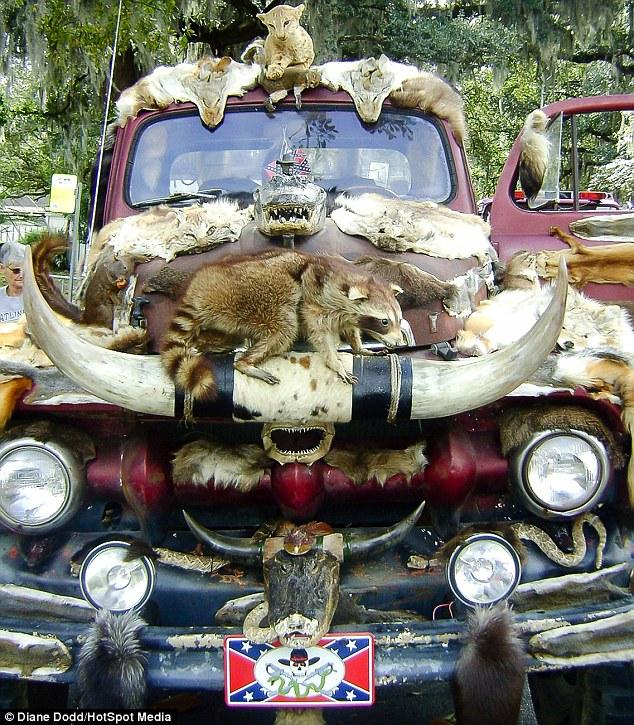 Taxidermy Truck - 02