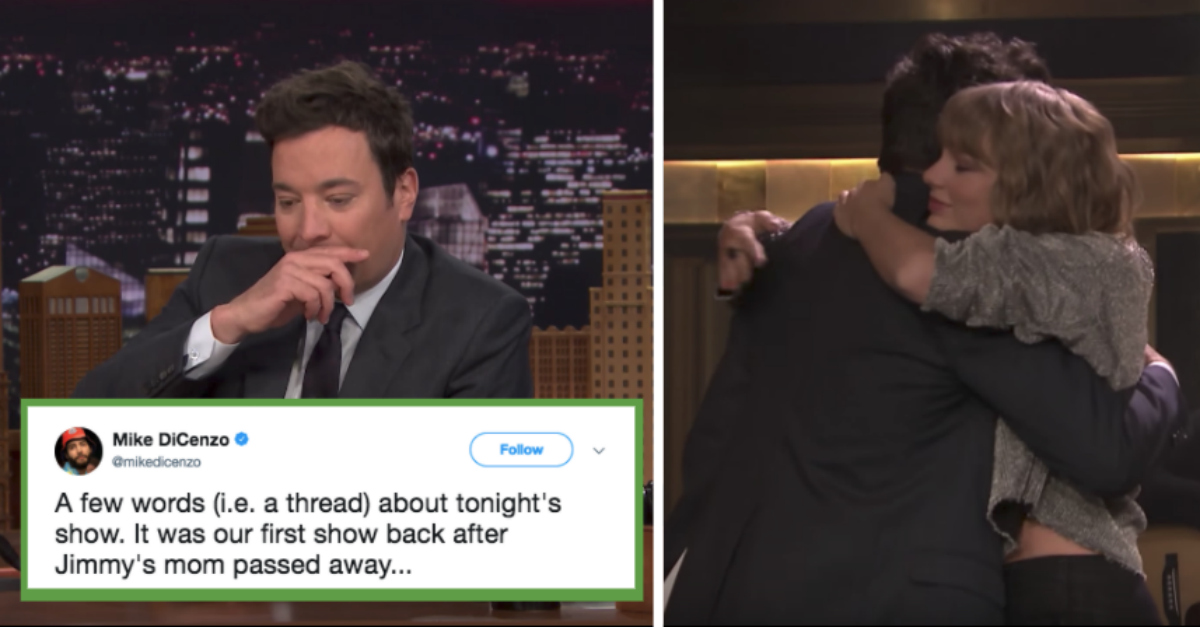 Here's the Heartbreaking Reason Jimmy Fallon Cried Over Taylor Swift's Performance on His Show