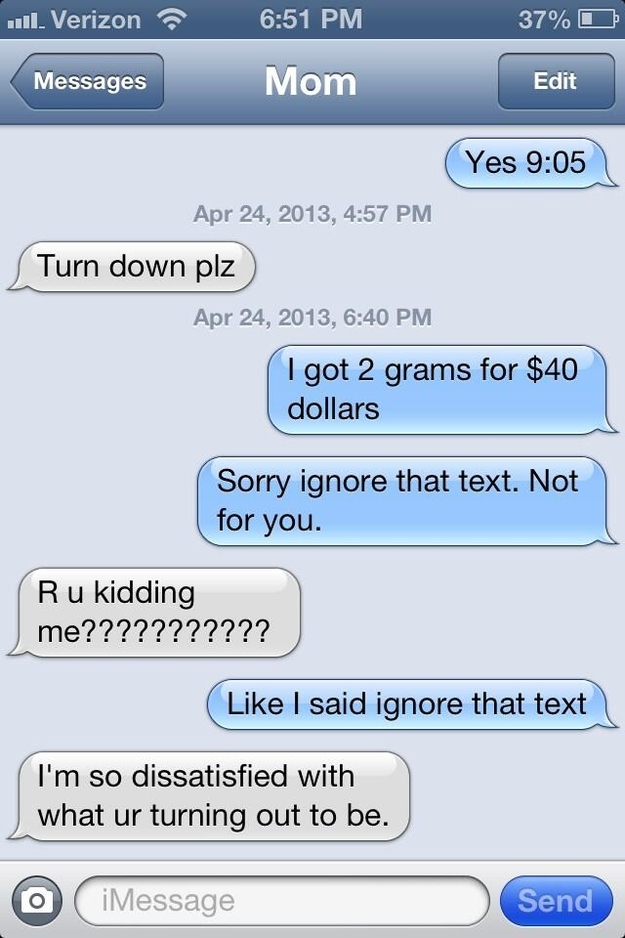 Texts That Parents Were Never Meant To See Thethings
