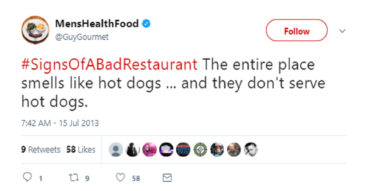 15 Tweets About Bad Dining Experiences so Bad They Redefine