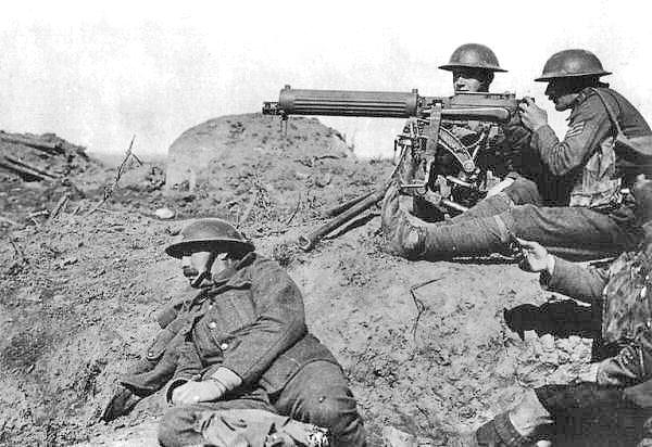 Urine - Vickers Machine Gun