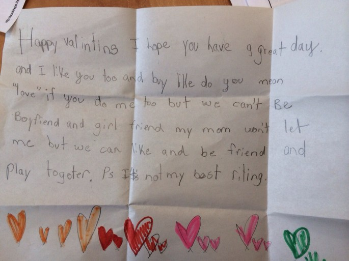 i love u sometimes! kids write the darndest valentine's day cards, Ideas