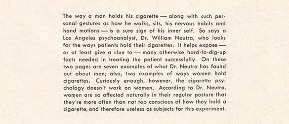 Vintage Cigarette Psychoanalysis - 02