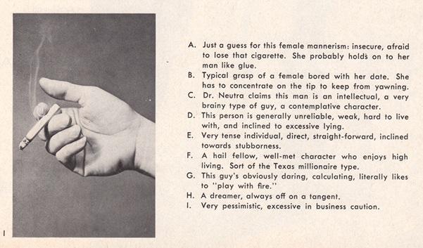 Vintage Cigarette Psychoanalysis - 04