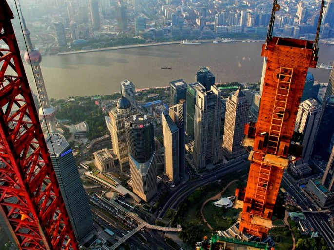 Wei Gensheng's aerial pictures of Shanghai - 09