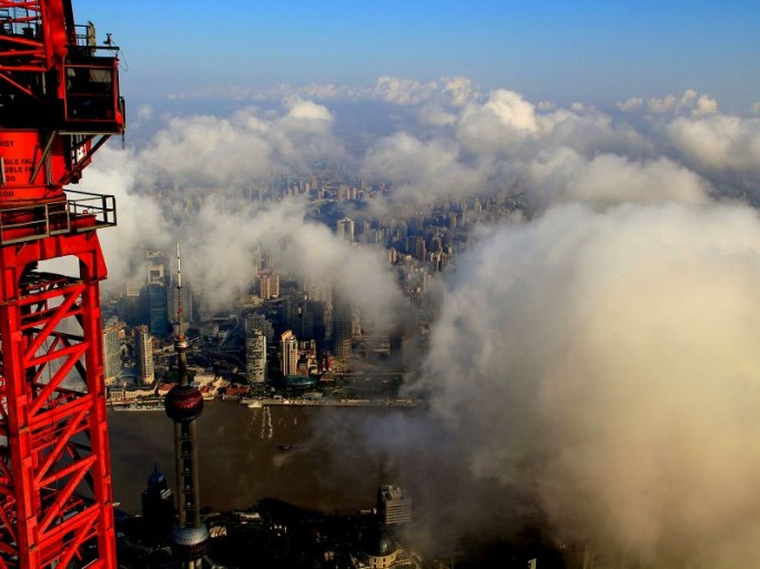 Wei Gensheng's aerial pictures of Shanghai - 12