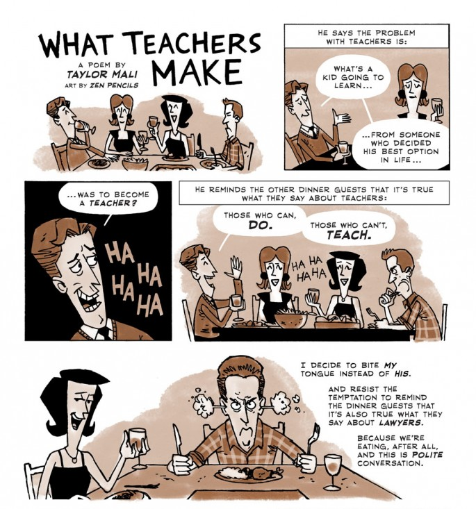 What Teachers Make - Taylor Mali and Zen Pencils - 01