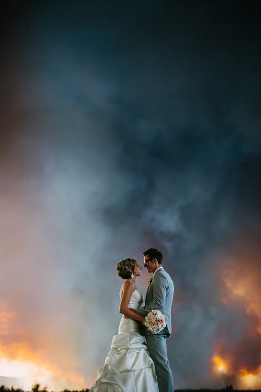Wildfire Wedding 07