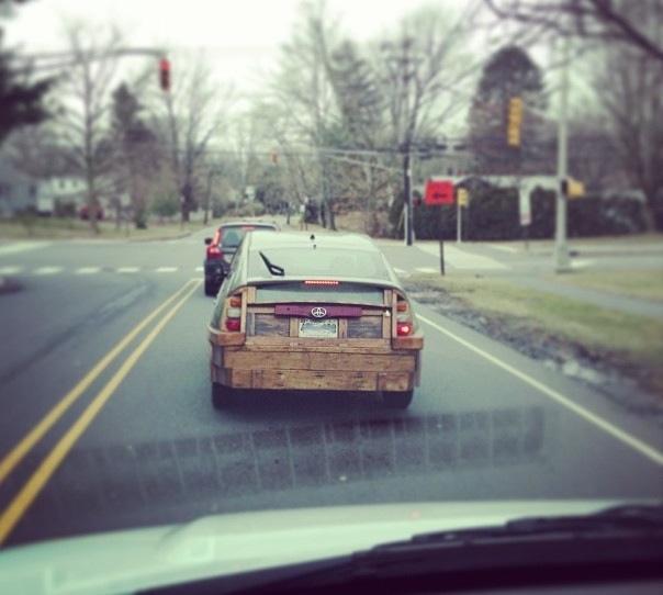 Wooden Prius - 03