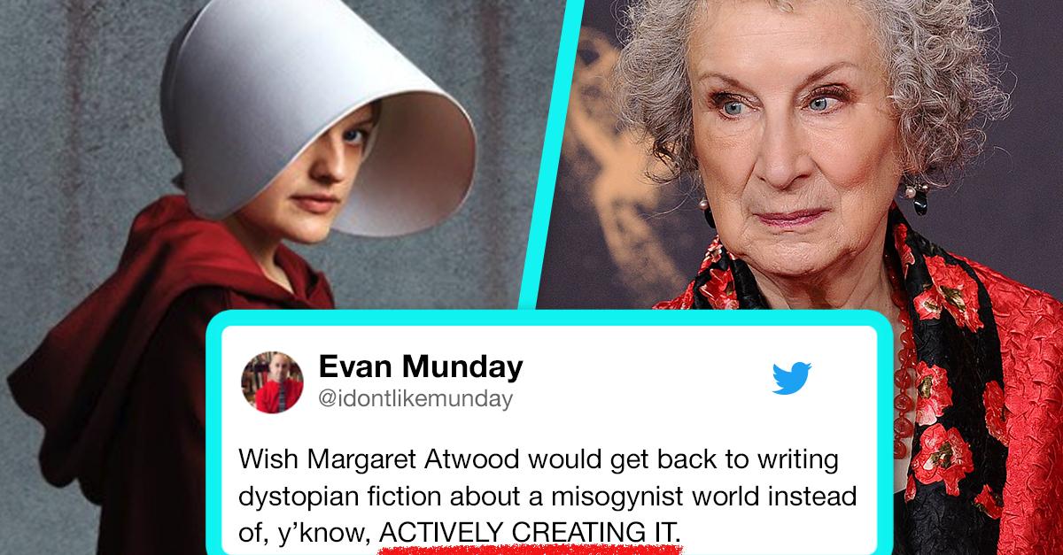 Handmaids Tale Author Margaret Atwood Slammed For Essay Asking Am  Handmaids Tale Author Margaret Atwood Slammed For Essay Asking Am I A  Bad Feminist   Words