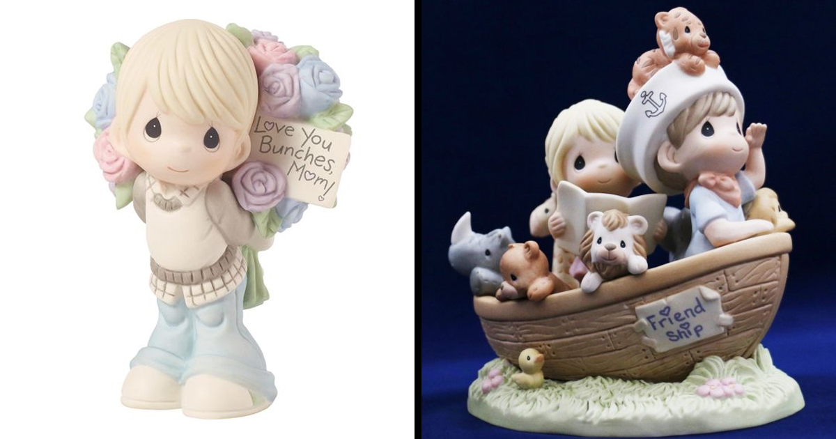 Your Old Precious Moments Figurines Are Probably Worth A Lot 22w