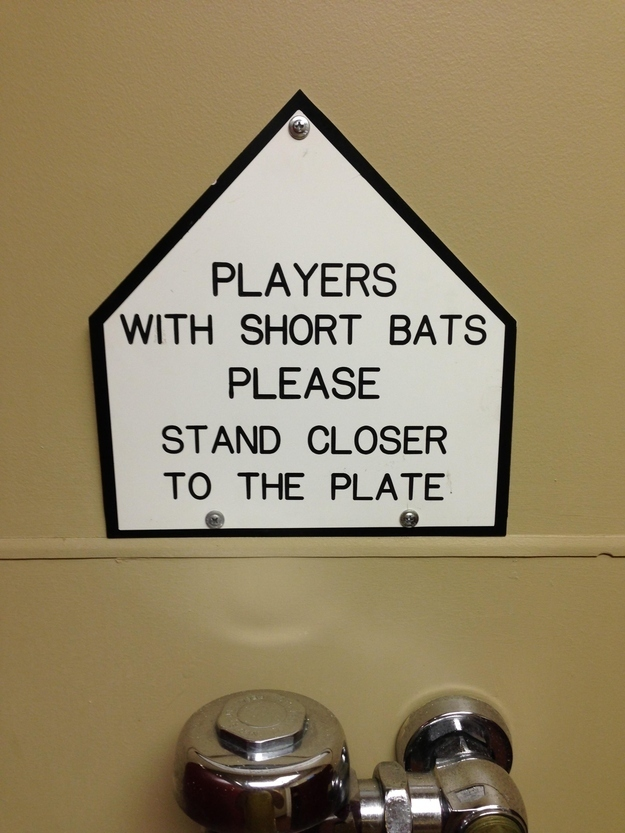 Bathroom Signs Pics 35 hysterical public restroom signs you've got to see | 22 words