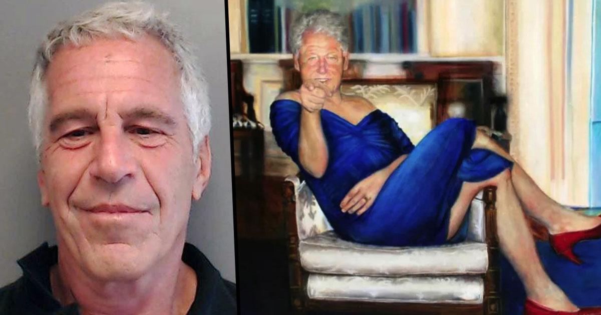 Jeffrey Epstein Had Picture Of Bill Clinton In Blue Dress
