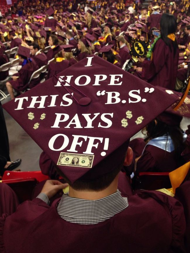 30 Hilarious Graduation Cap Ideas You Ve Got To See 22 Words
