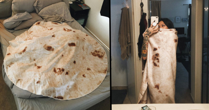 You Can Now Buy A Tortilla Blanket So You Can Turn Into A