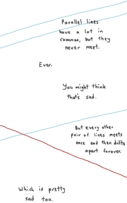 you ve never realized how hopelessly sad simple geometry can be