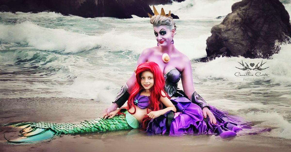 Mom And Daughter Slay Disney Dress Up On Instagram Bpm