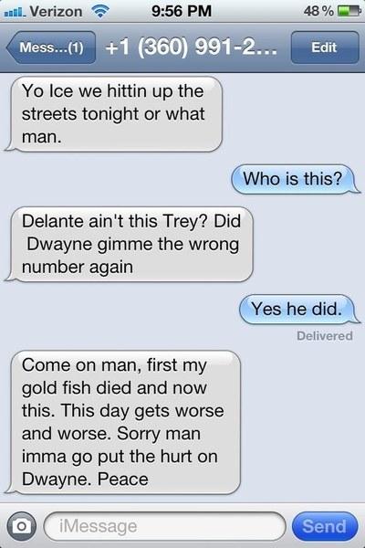 Random sexting numbers
