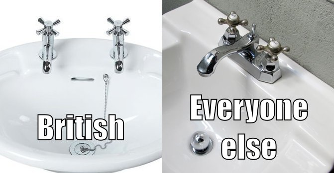 Image result for british taps