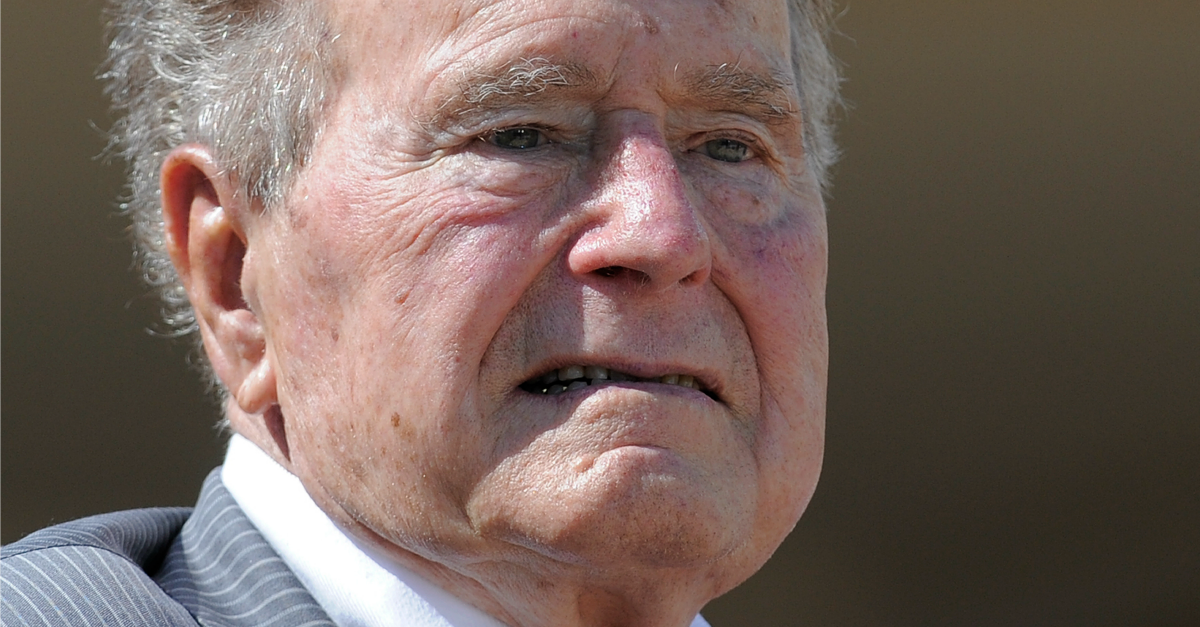 Now George Bush Sr Is Being Accused Of Sexual Assault And He Doesn