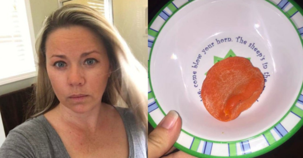 Mom Finds Mysterious Fragrant Lump In Her Bathroom Then