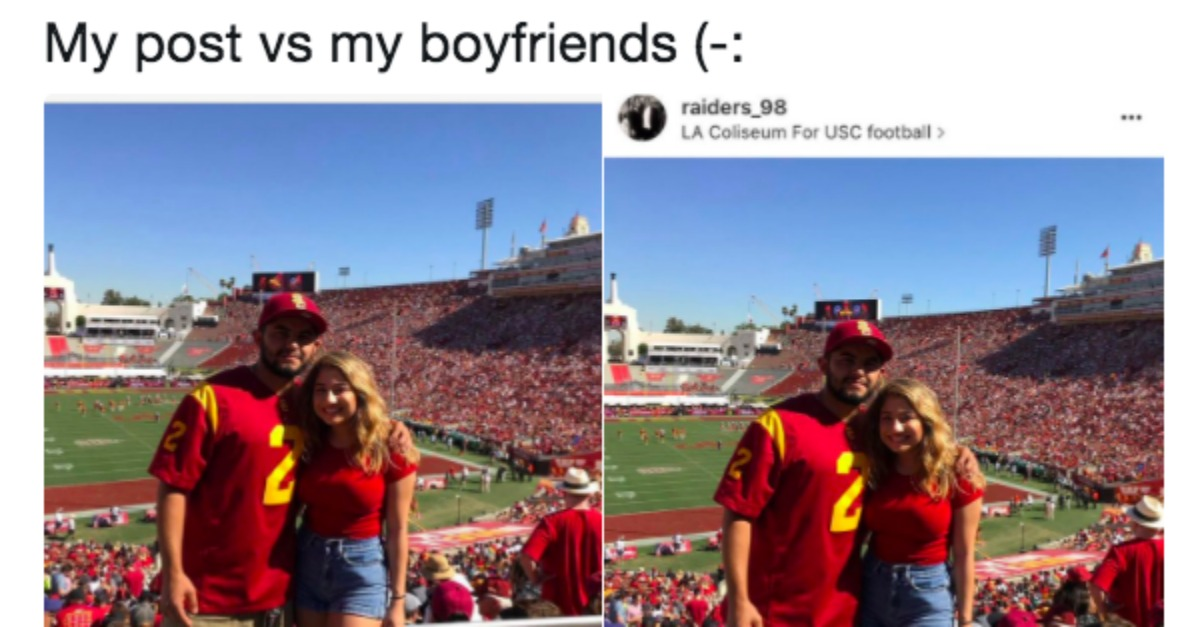 The Hilarious Difference Between Couple S Instagram Captions Are Relationships In A Nutshell