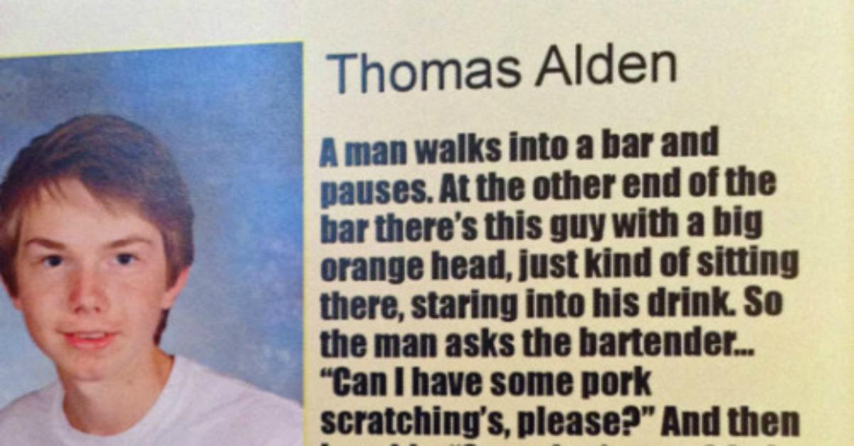 High School Yearbook Quotes Delectable Friends Use Their High School Yearbook Quotes To Tell Epic Joke 48