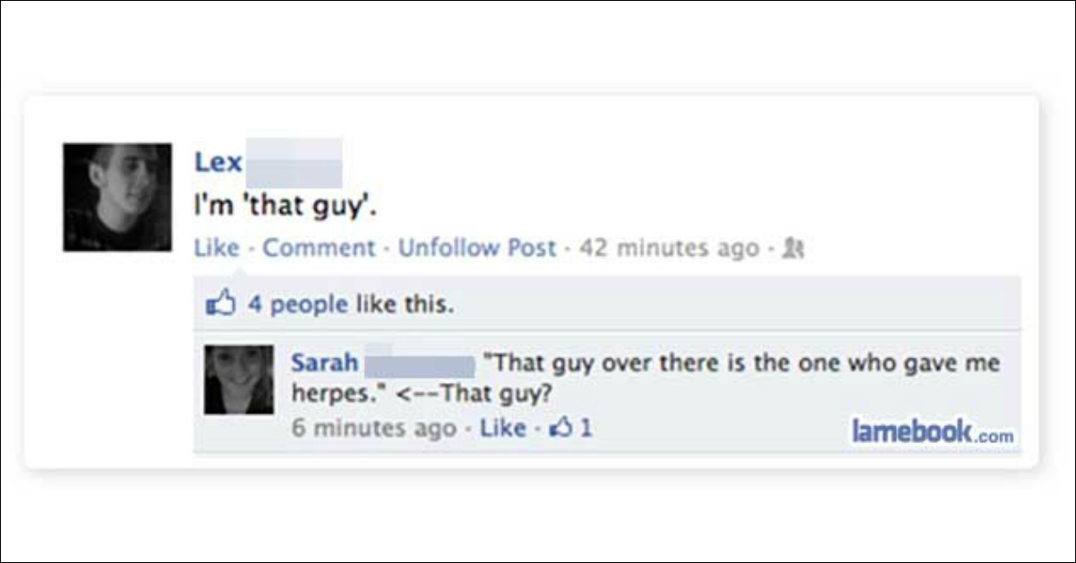 Website where guys post pics of their exes