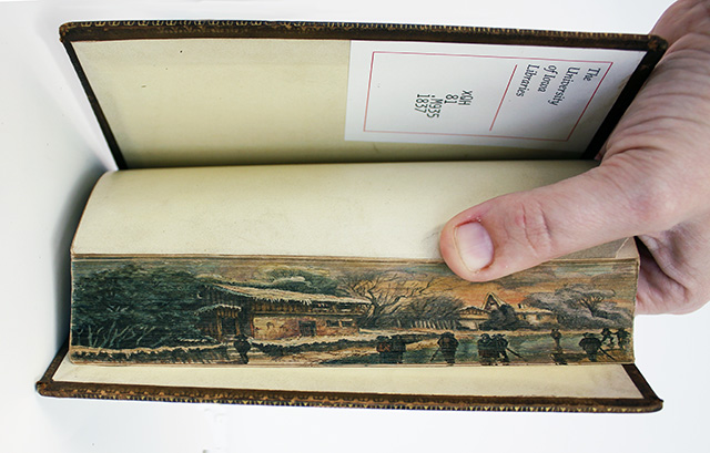 fore edge painting - 03