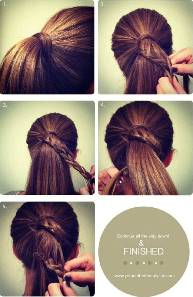 20 Simple Styles For Long Hair That Dont Take A Long Time 22 Words