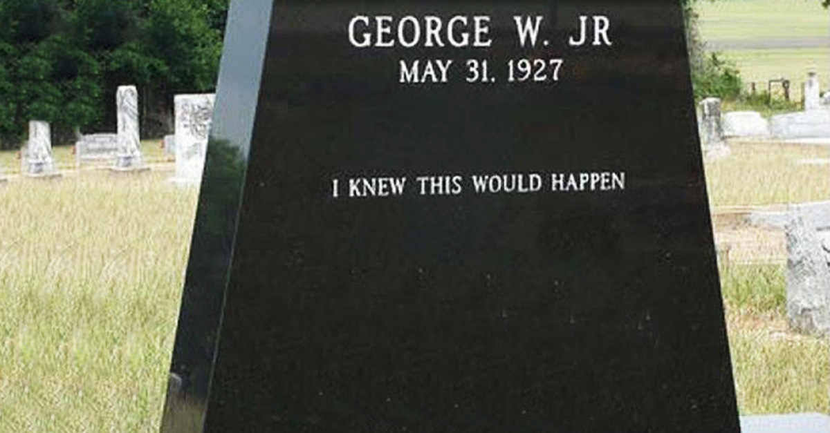 These 25 Hilarious Headstones Got In