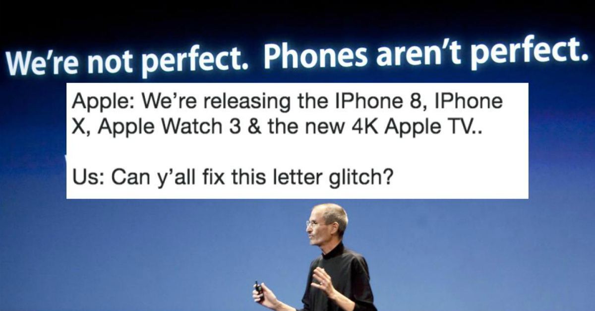 "here's how to fix the iphone glitch that turns the letter ""i"" into"