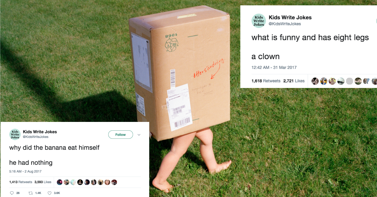 15 Jokes by Kids That Are so Bad They're Actually Really Good   22 Words