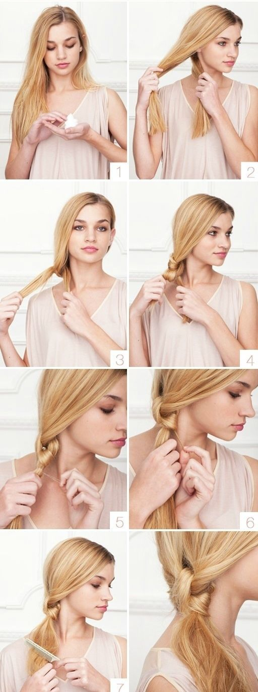 15 Cute And Easy Hairstyles Anyone With Long Hair Will Love 22 Words