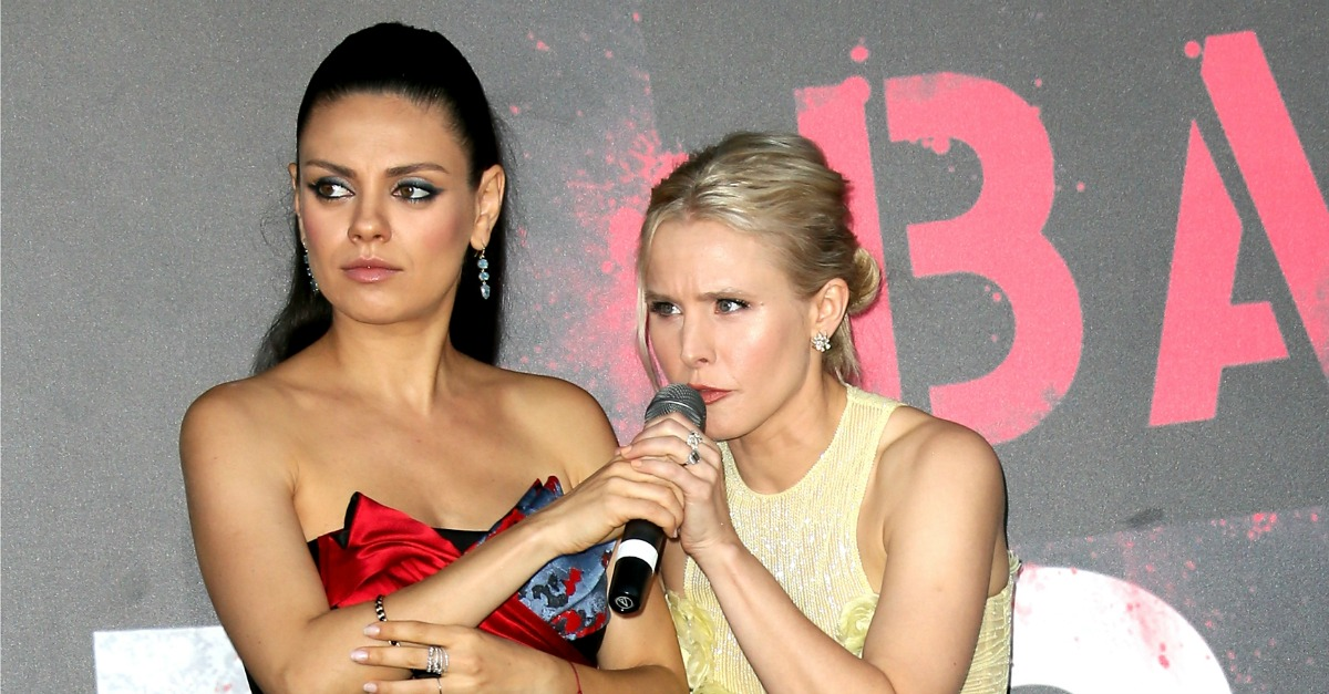 Kristen Bell and Mila Kunis' Just Got Matching Friendship Haircuts — and They Are so Cute