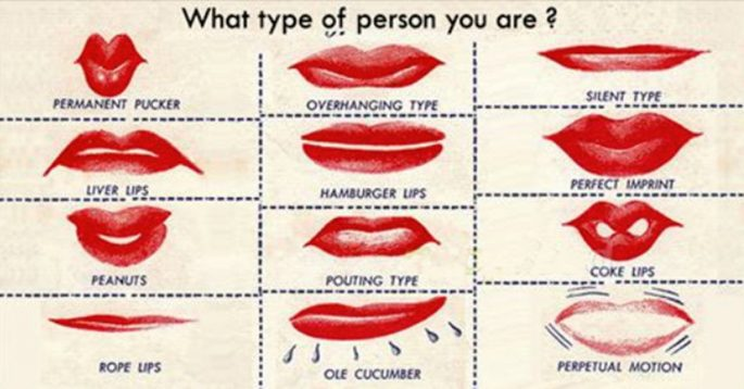 The Shape of Your Lips May Say More About You Than the ...