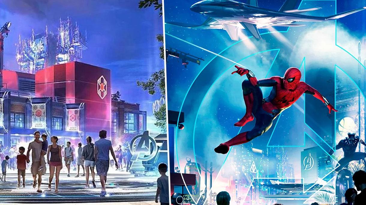 Disney to Open $14 Million Marvel Land in 2020 | 22 Words