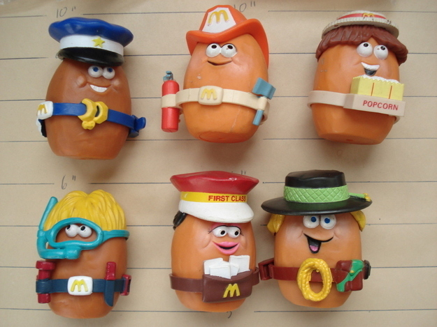 Really Weird Toys : Happy meal toys that every ' s and mckid wanted