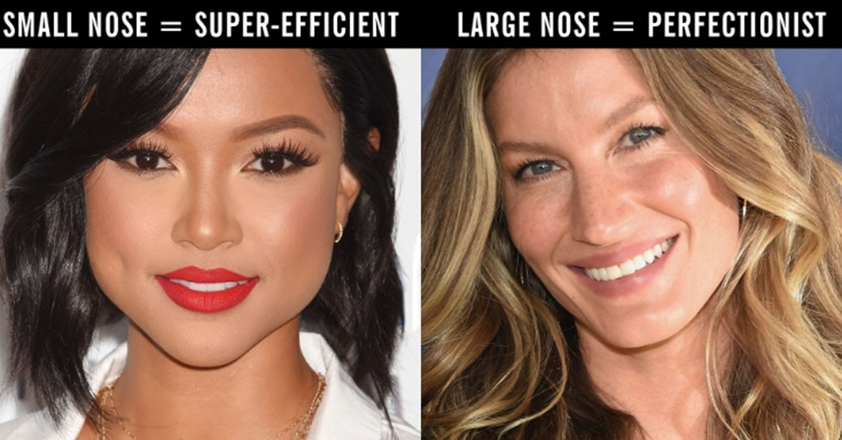here s what the shape of your nose says about your personality 22