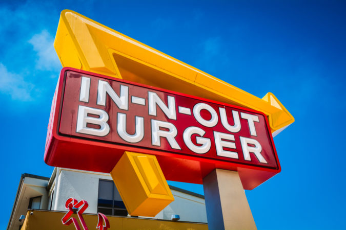 Madison : In and out burger found in queens new york
