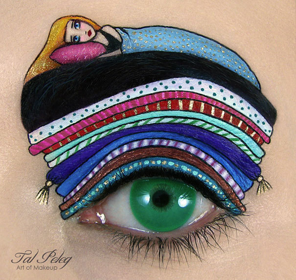 This Makeup Artist Transforms Her Eyes Into Gorgeous Works Of Art