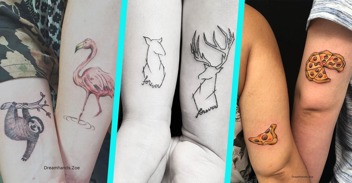 dc5a9bf67 30 of the Cutest Couple Tattoos We've Ever Seen | 22 Words