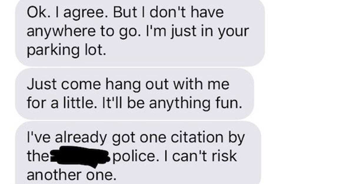 Guy Gets Super-Aggressive With a Girl He Just Met, and His